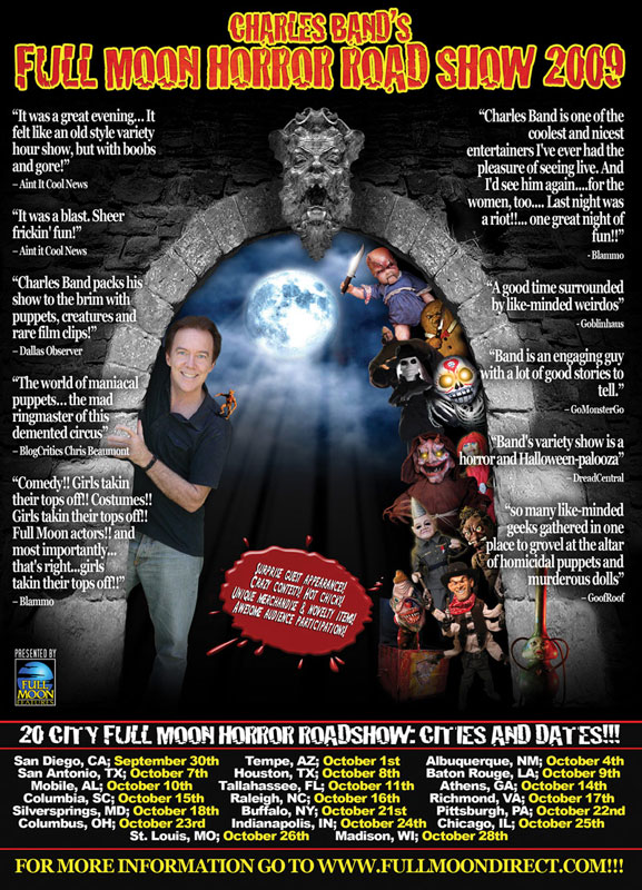Charles Band's Full Moon Horror Road Show