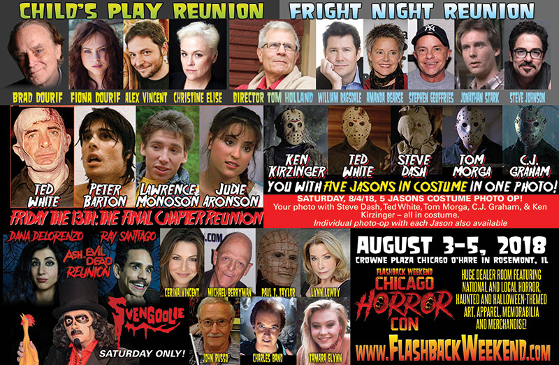 Flashback Weekend Chicago Horror Con