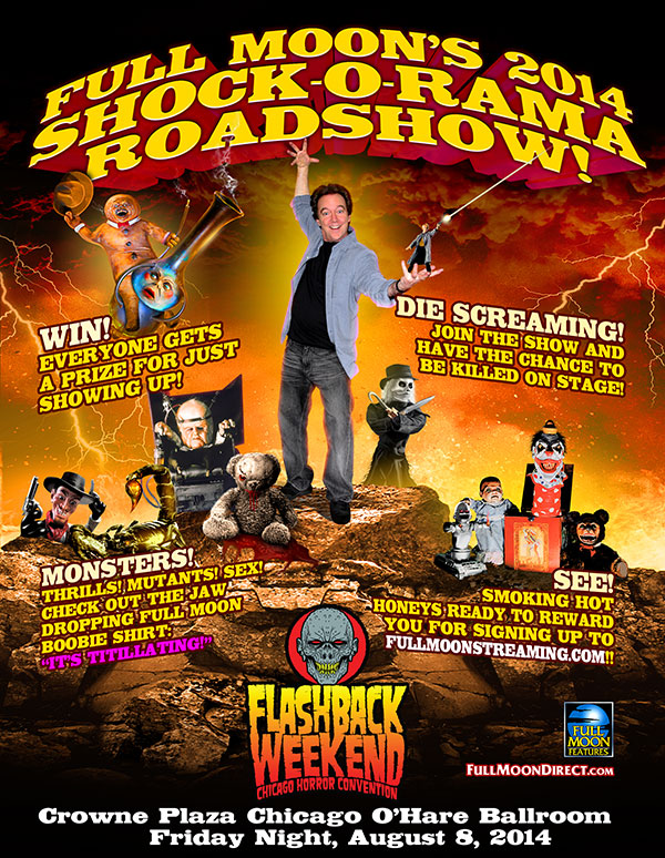 Full Moon's 2014 Shock-O-Rama Roadshow