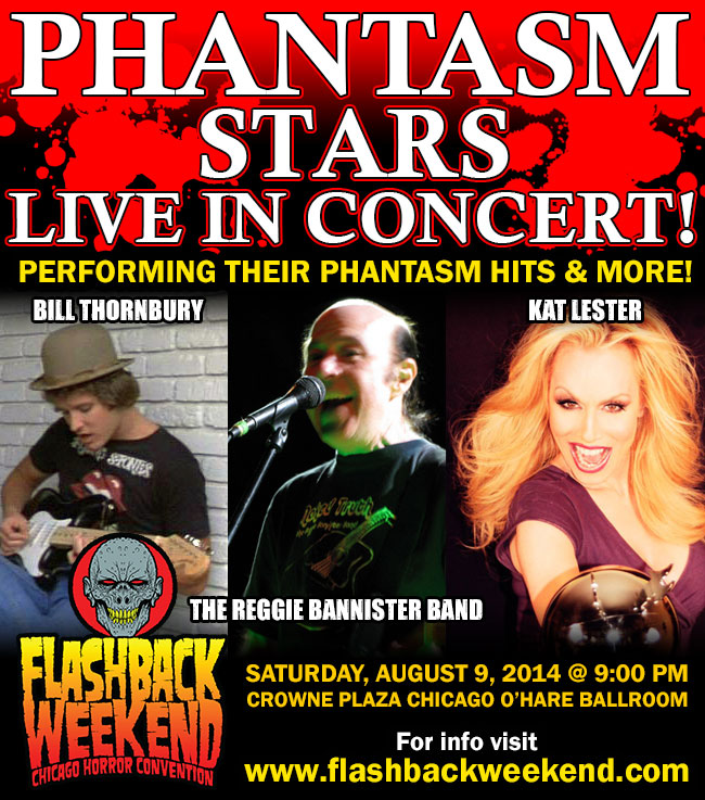 Phantasm Stars In Concert
