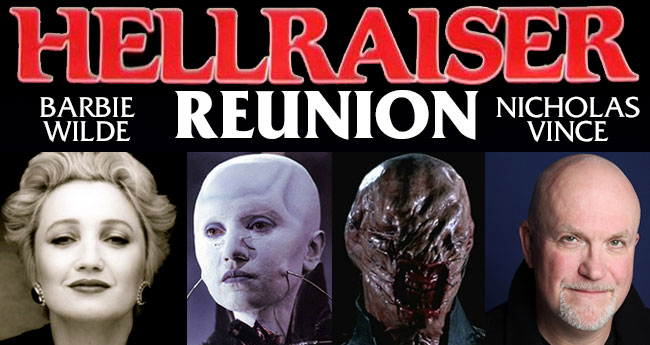 Hellraiser Reunion with Barbie Wilde and Nicholas Vince