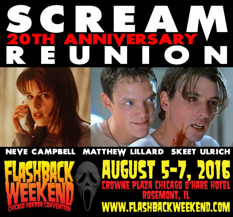 Scream 20th Anniversary Reunion